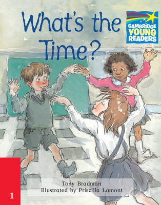 What's the Time? Level 2 ELT Edition by Tony Bradman image