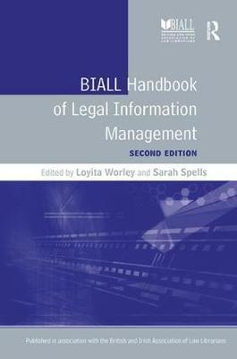 BIALL Handbook of Legal Information Management by Loyita Worley image