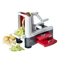 Stainless Steel Tri-Blade Vegetable Spiralizer