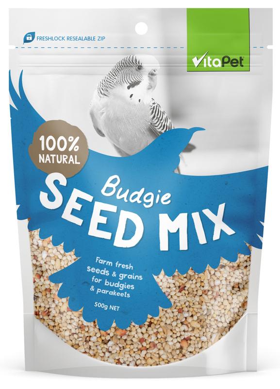 Vitapet: Budgie Seed 500g