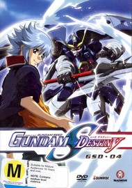Gundam Seed - Gundam S Destiny: Vol. 4 on DVD