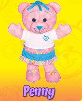 Doodle Bear Airbrush Art - Penny