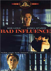 Bad Influence on DVD