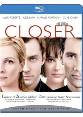 Closer on Blu-ray
