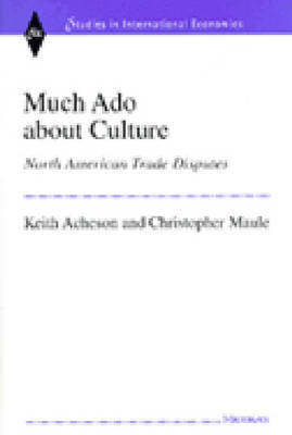 Much Ado About Culture by Keith Acheson