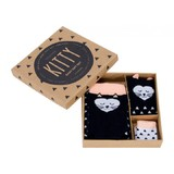 Boxed Baby Sock Set - Kitty
