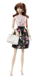 The Barbie Look: Tea Party Perfect - Brunette Doll