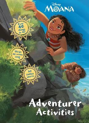 Disney Moana Adventurer Activities by Parragon Books Ltd image