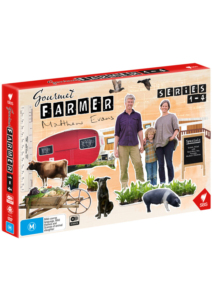 Gourmet Farmer: Series 1-4 (Limited Edition Boxset) on DVD image