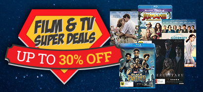 Film & TV Super Deals! Up to 30% off!