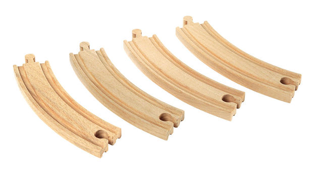 Brio: Railway - Large Curved Tracks