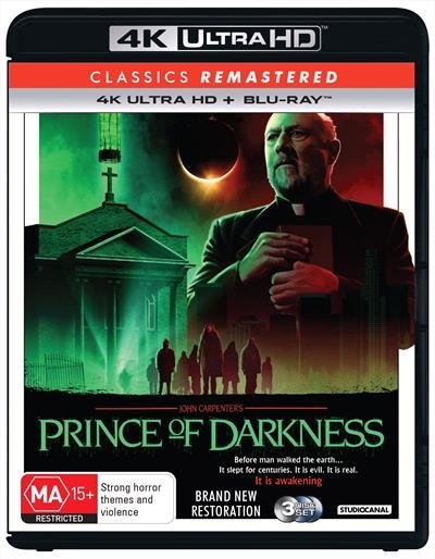Prince Of Darkness (1987) on Blu-ray, UHD Blu-ray