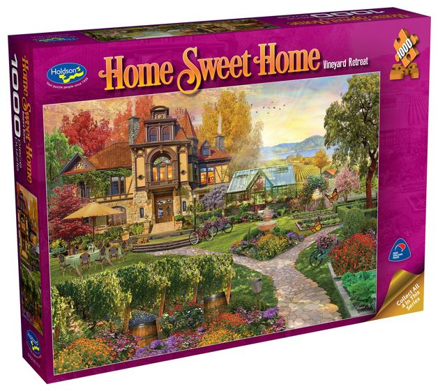 Holdson: 1000 Piece Puzzle - Home Sweet Home S2 (Vineyard Retreat)