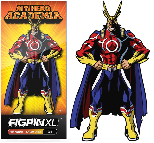 My Hero Academia: All Might Silver Age (#X4) - XL FiGPiN