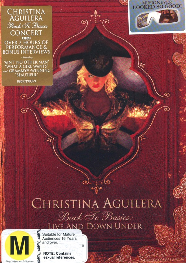 Christina Aguilera - Back To Basics: Live And Down Under on DVD image