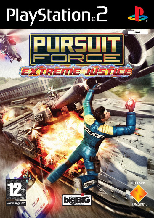 Pursuit Force: Extreme Justice for PlayStation 2