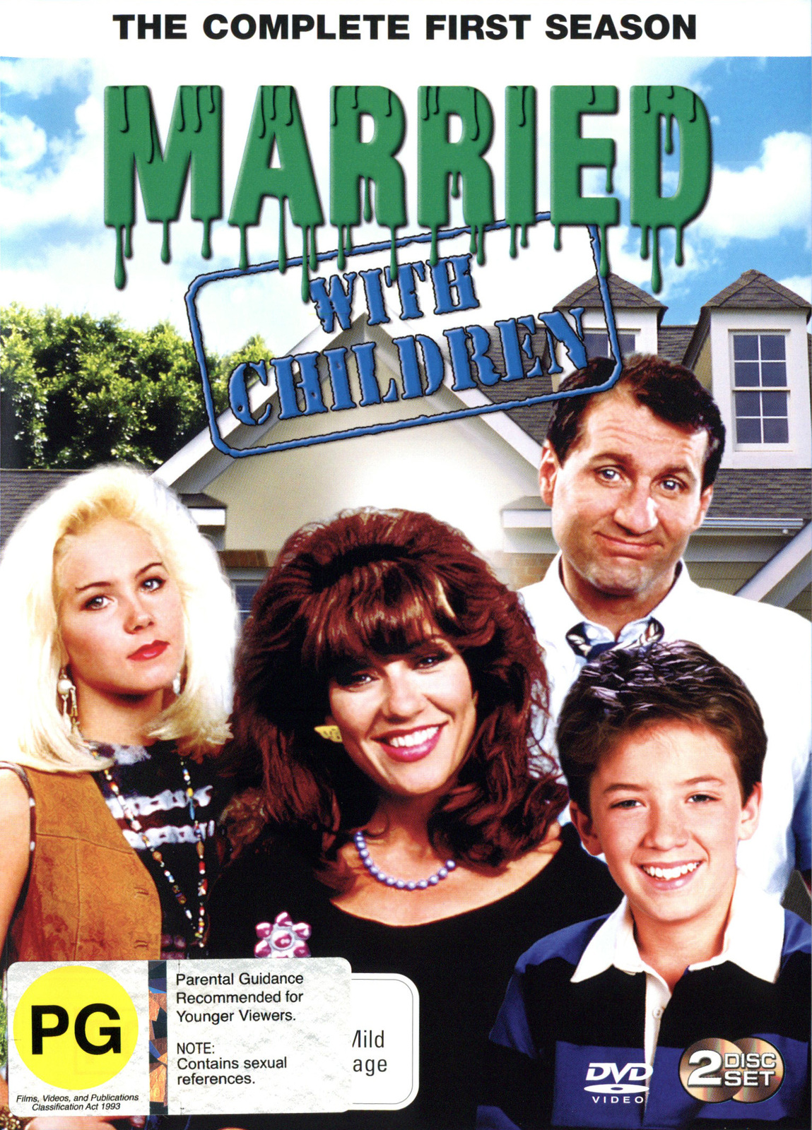 Married With Children - The Complete 1st Season on DVD image