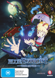 Blue Exorcist - The Movie on DVD
