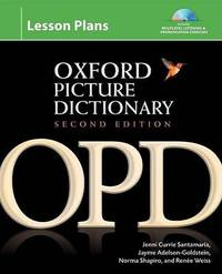 The Oxford Picture Dictionary: Lesson Plans by Jayme Adelson-Goldstein