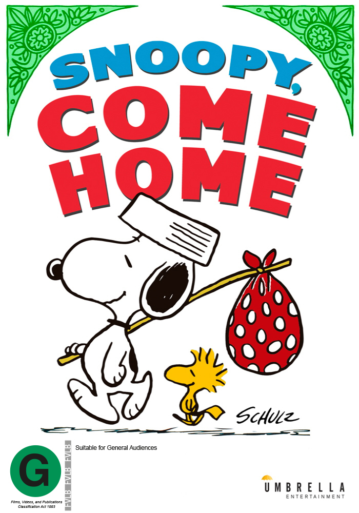 Snoopy Come Home on DVD image