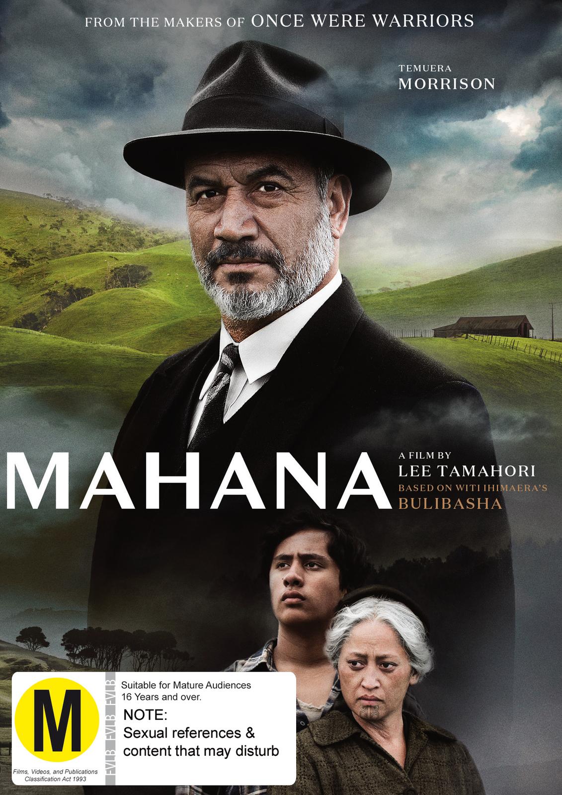 Mahana on DVD image