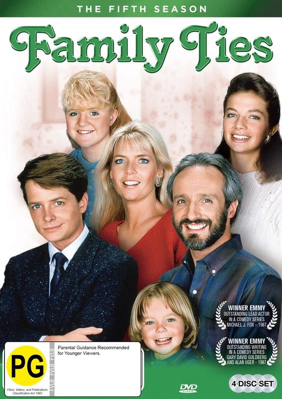 Family Ties (Season 5) on DVD