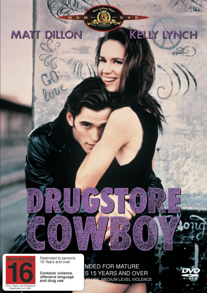 Drugstore Cowboy on DVD image