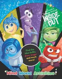Disney Pixar Inside Out Mind World Activities by Parragon Books Ltd image