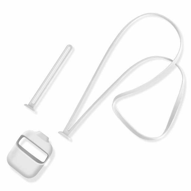 Universal 2 IN 1 Straps Silicone Case - White