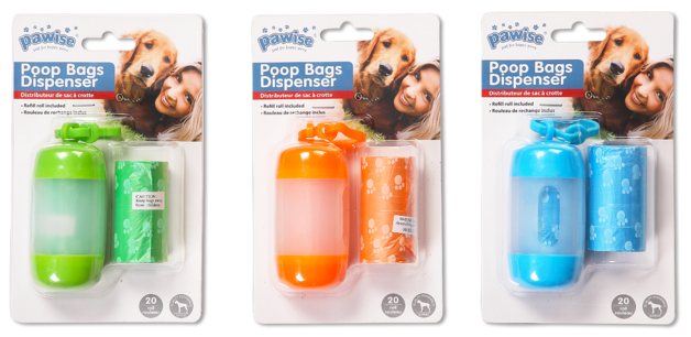 Pawise: Poop Bag Dispenser - 10x4.5 cm