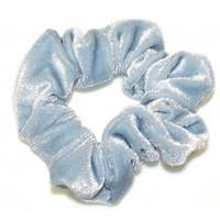 Goody Gumdrops: Velvet Scrunchie - Ice Blue image