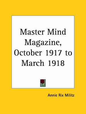 Master Mind Magazine (1917): v. 13
