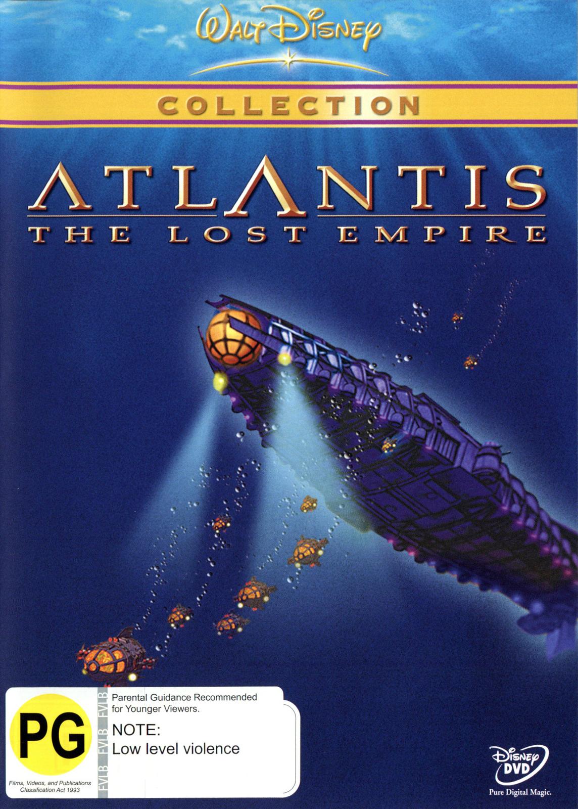 Atlantis on DVD image
