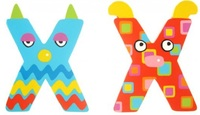 Tatiri Alphabet Letter Crazy Animal - X