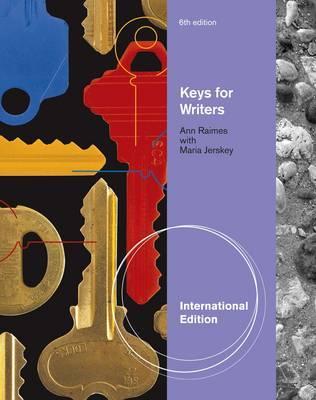 Keys for Writers, International Edition by Ann Raimes image