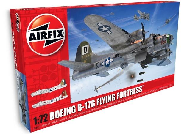 Airfix 1:72 Boeing B-17G Flying Fortress - Model Kit