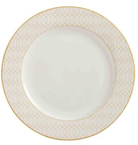 Maxwell & Williams Cashmere Nocturne Side Plate 20cm White/Gold