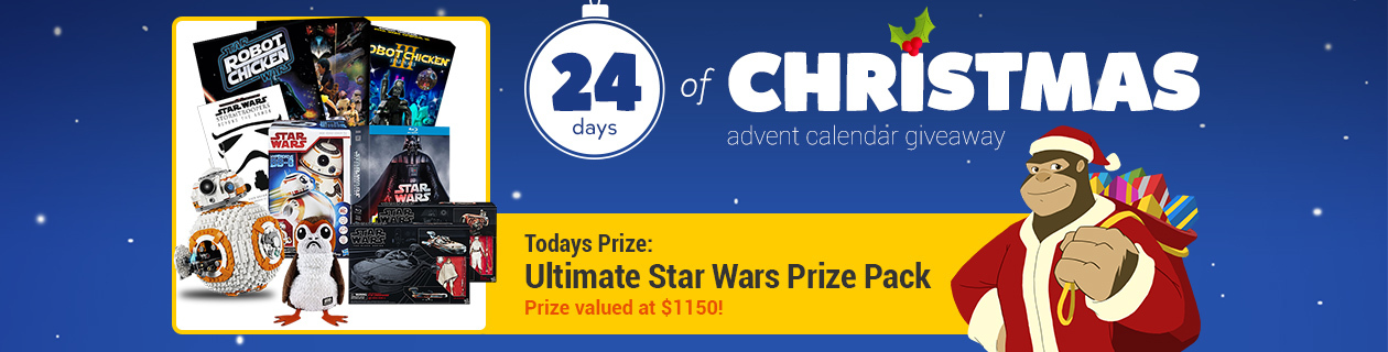 Day 14: Ultimate Star Wars Prize Pack