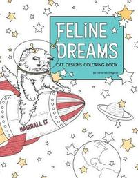 Feline Dreams Cat Designs Coloring Book by Katherine Simpson