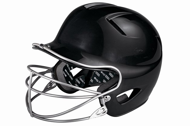 Franklin Youth Softball Helmet Silver (Black)