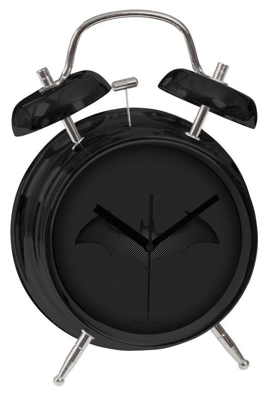 Batman Alarm Clock Black Batarang