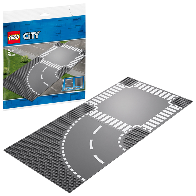 LEGO City - Curve & Crossroad (60237)