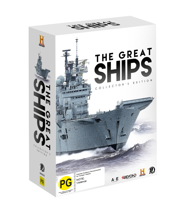 The Great Ships: Complete Series Collector's Edition on DVD