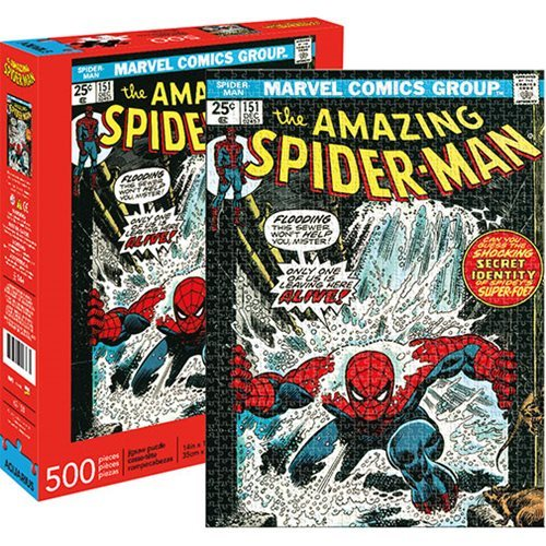 Marvel: 500 Piece Puzzle - Spider-Man Cover