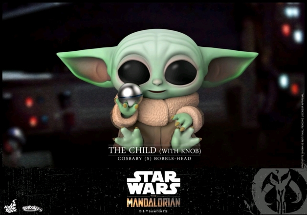 Star Wars: The Mandalorian - The Child (with Knob) - Cosbaby Figure