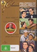 Abbott And Costello 4 Movie Pack on DVD