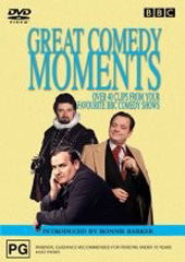 Great Comedy Moments on DVD