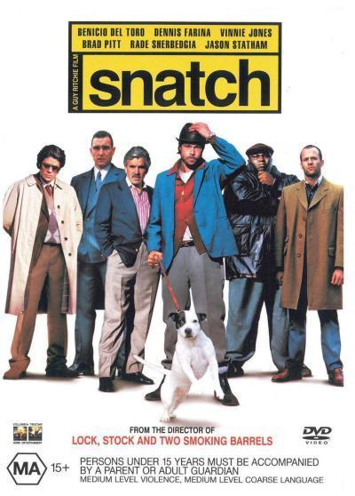Snatch on DVD image