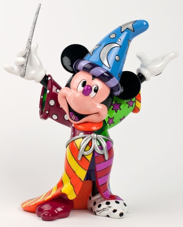 Romero Britto - Sorcerer Mickey Mouse Figurine Large