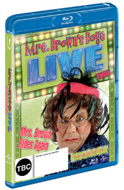 Mrs Browns' Boys Live: Mrs Brown Rides Again on Blu-ray image